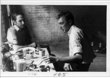 Robert Rauschenberg & Jasper Johns